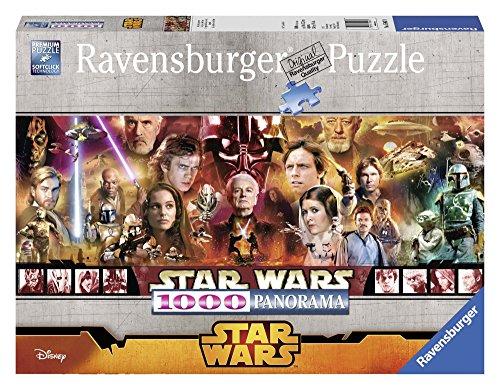 Ravensburger 15067 Panorama Star Wars Puzzle, 1000 Pezzi