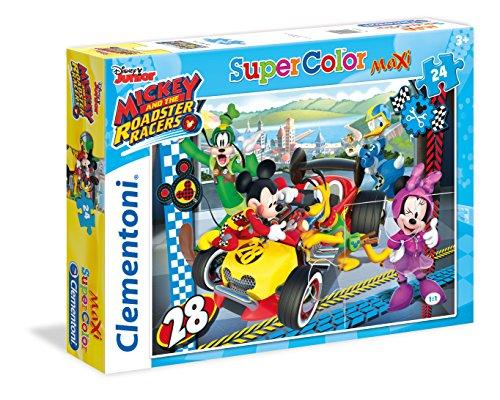 Clementoni Clem Pzl 24 Maxi Mickey 24481, Multicolore