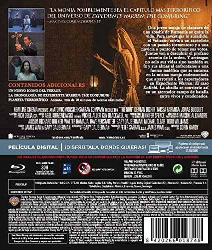 La-Monja-Blu-ray