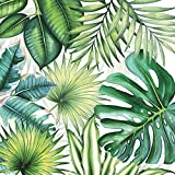 Ambiente Servietten Lunch / Party / Fest Ca. 33x33cm - Tropical Leaves - Tropische Blätter - Ideal Als Geschenk