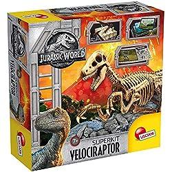 Lisciani Giochi–Jurassic World Super Kit Velociraptor,, 68227