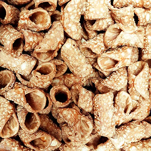 Cannoli siciliani mignon, in box da circa 60 pezzi (gr. 500). RAREZZE: prodotti tipici siciliani, cassata, pasta di mandorle, da pasticceria artigianale siciliana.
