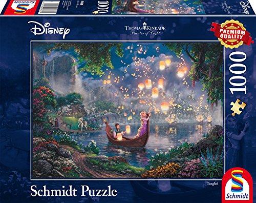 Schmidt Puzzle Raperonzolo Thomas Kinkade 1000 Pezzi, 59480