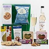 Natures Hampers Glutenfreie Geschenkkorb - Glutenfrei Vegetarische u. Vegane Lebensmittel u. Snacks - Geburtstag für Männer - Geburtstag für Frauen - Weihnachtsgeschenke