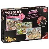 3 in 1 1000 Piece Wasgij Destiny Collectors Box Volume 1 Cartoon Jigsaw Puzzles