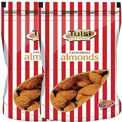 Sattva Tulsi California Almonds Premium 400Gm(200G X 2)