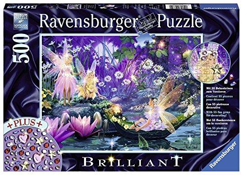 Ravensburger 14882 - Puzzle luminoso, soggetto: Nel bosco delle fate, 500 pz.