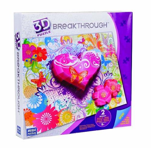 Mega Bloks 50680 - Mega 3D Puzzle Flores Y Mariposas 2
