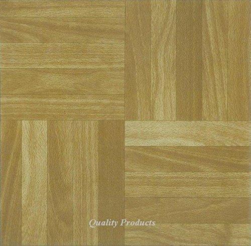 Piastrelle da pavimento in vinile, autoadesive, per cucina/bagno, adesive, quadrate, motivo: effetto...