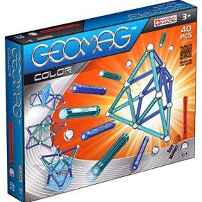 Geomag - Color 40 piezas, juego de construcción (252) , Modelos/colores Surtidos, 1 Unidad