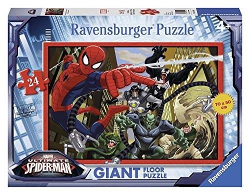 Ravensburger 05440 - Ultimate Spiderman Giant Floor Puzzle, 24 Pezzi