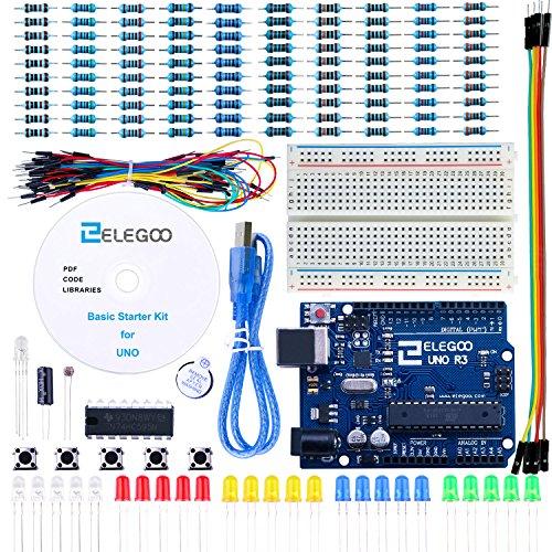 Elegoo Progetto Starter Kit Basic per Principianti con Tutorial in Italiano Learning Kit di Apprendimento
