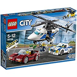 Lego 60138 City Rasante Verfolgungsjagd, Bausteinspielzeug
