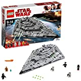 LEGO- First Order Star Destroyer, Multicolore, 75190