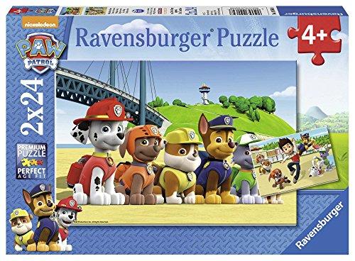 Ravensburger Italy Paw Patrol 2 Puzzle da 24 Pezzi,, 90648