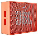 JBL GO Diffusore Bluetooth Portatile, Ricaricabile, Ingresso Aux-In, Vivavoce, Compatibilità Smartphone/Tablet e Dispositivo MP3, Arancio
