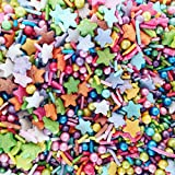 Unicorn Party Rainbow Sugar Sprinkles for Cakes & Cupcakes