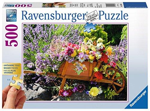 Ravensburger Puzzle Disposizione dei Fiori, Adulto Puzzle, 13685
