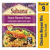 Suhana Chicken Biryani 50g Easy to Cook - Pack of 9