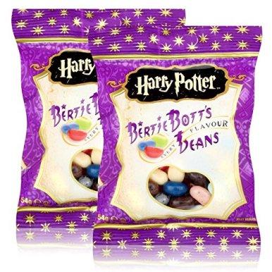 Jelly-Belly-Harry-Potter-Bertie-Botts-Beans-54g-Every-Flavour-Die-wild-verrckten-Geschmcker-2er-Pack