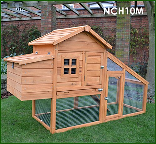FeelGoodUK Chicken Coop with Internal Roosting Perches