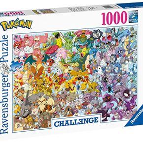 Ravensburger Puzzle 1000 Piezas, Pokémon Challenge, Colección Challenge, Impossible Rompecabezas Ravensburger de Alta…