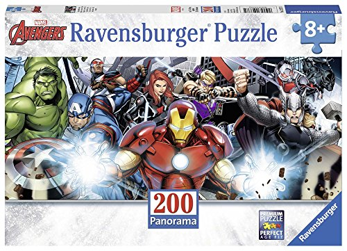 Ravensburger Italy Puzzle Avengers Panorama, 200 Pezzi 12737 5