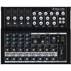 Mackie 25813 Mix12FX 12-Channel Compact DJ Mischer