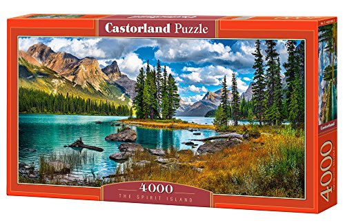 Castorland The spirit island 4000 pcs 4000pc(s) - Puzzles (Jigsaw puzzle, Landscape, Children &...