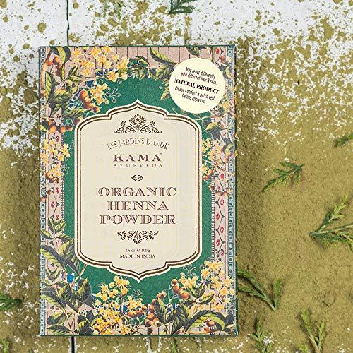 Kama Ayurveda 100% Organic Henna Powder, 100g 9