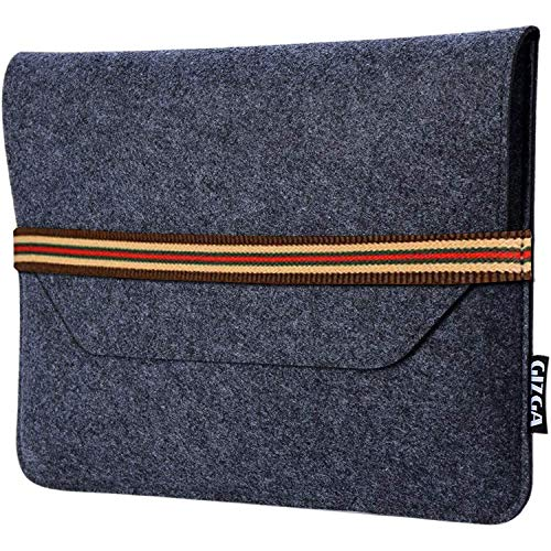 GIZGA Laptop Bag Sleeve Case Cover for 13-Inch/ 13.3 Inch Laptop MacBook Air Pro (Slate Grey)