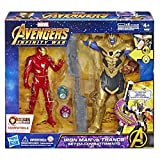 Avengers: Infinity War - Iron Man vs. Thanos Hero Vision (Battle Set Personaggi, Action Figure), E0559103