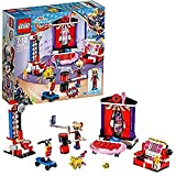 LEGO - 41236 - Dc Super Hero Girl - Jeu de Construction - La chambre d'Harley Quinn