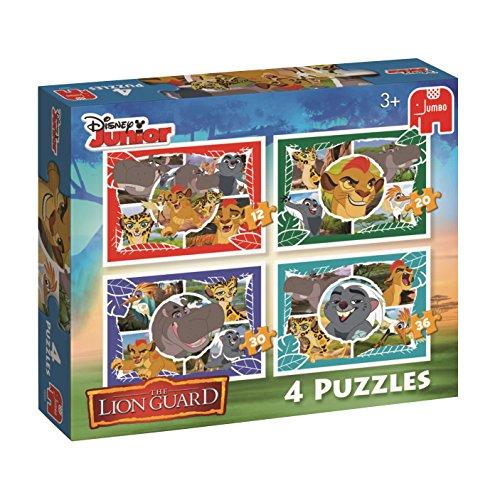 Disney The Lion Guard-4Puzzle in Una Scatola