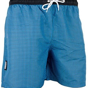 GUGGEN Mountain Maillot de Bain pour Homme de materiau High-Tech Slip Shorts Colour Bleu M