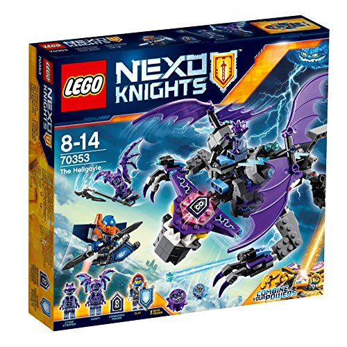 LEGO Nexo Knights - Helígola, Juguete de Construcción para Recrear Aventuras de los Caballeros (70353)