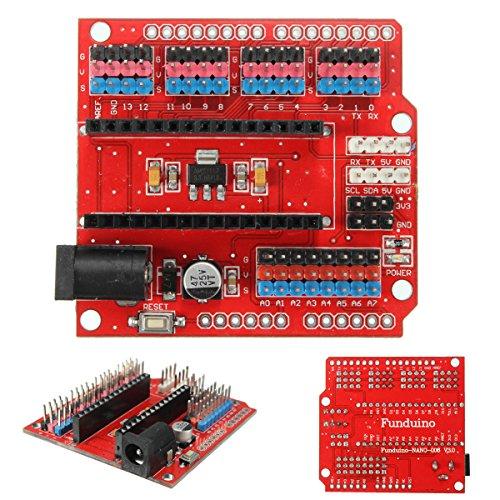 61ifmqDnXyL - WINGONEER Expansion Prototype Shield Módulo de Placa de extensión de E/S para Arduino Nano V3.0
