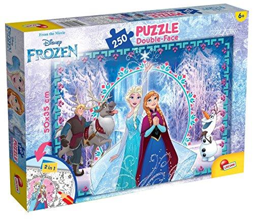 Lisciani Giochi 52981 - Puzzle DF Plus Frozen, 250 Pezzi