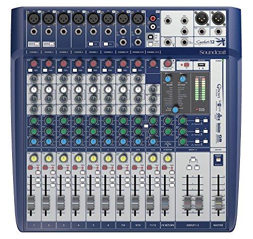 Soundcraft Signature 12 - Mezclador analógico compacto