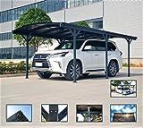 ITALFROM Carport Tettoia per Auto in Policarbonato e Alluminio - 505x300 cm da Esterno o da Giardino