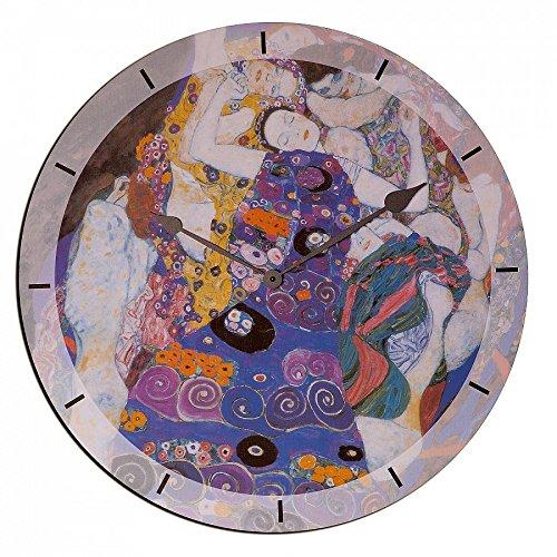 Artopweb EC35005 Klimt Virgin Orologio, Legno, 60x0.5x60 cm