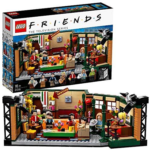 Lego Ideas Central Perk 25° Anniversario di Friends Gioco di Costruzioni Ispirato alla Leggendaria Sitcom Televisiva, per Tutti Gli Appassionati e i Fan di Friends