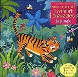 Mon petit coffret Livre et puzzles - La jungle