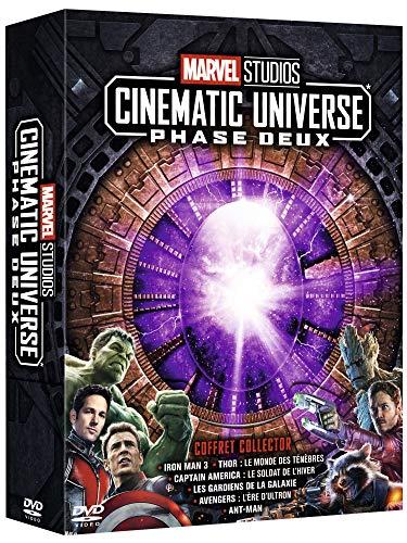 Marvel Studios Cinematic Universe : Phase Deux [Francia] [DVD]