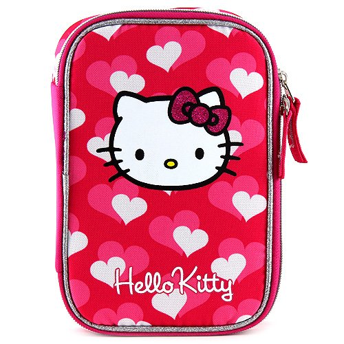 Target Hello Kitty Pencil Case Astuccio, 23 cm, Rosa (Pink)