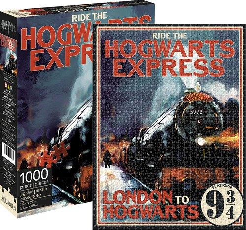 Aquarius Harry Potter Hogwarts Express puzzle (1000pezzi)