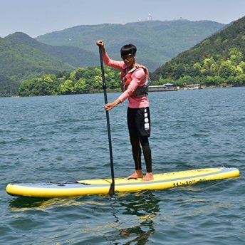 Costway-11FT-SUP-Inflatable-Surfing-Board-Soft-Surf-Stand-Up-Paddle-Board-WCarry-Bag-Flexible-Paddle-Hand-Pumb-Pressure-Gauge-335X76X15-CM