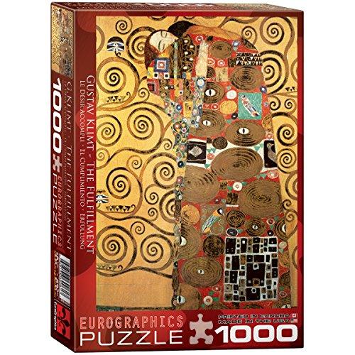 Eurographics 09961 Klimt L'avveramento, Puzzle 1000 pezzi