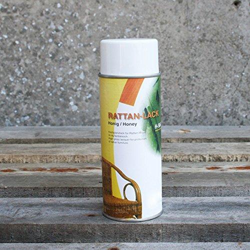 Pflegelack für Rattan & Peddigrohr 400 ml- Honig