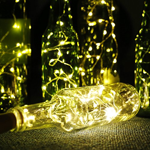 aled light lot de 6 guirlandes lumineuses eclairage de. Black Bedroom Furniture Sets. Home Design Ideas